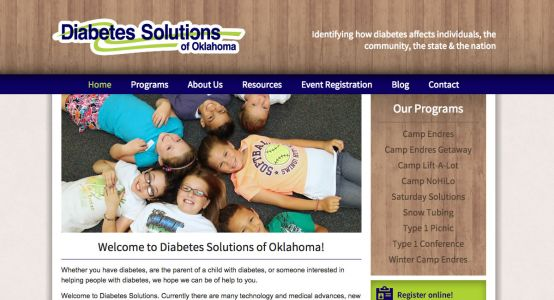 Diabetes Solutions of Oklahoma Starter Website