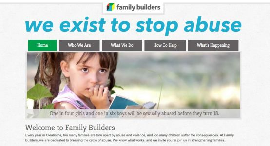 Family Builders Starter Website