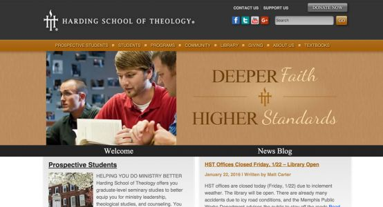 Harding School of Theology Premium Website