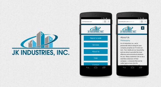 JK Industries, Inc. Mobile Website