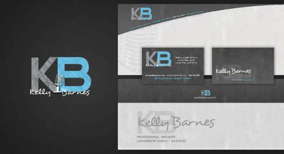 Kelly Barnes Logo & Print Work