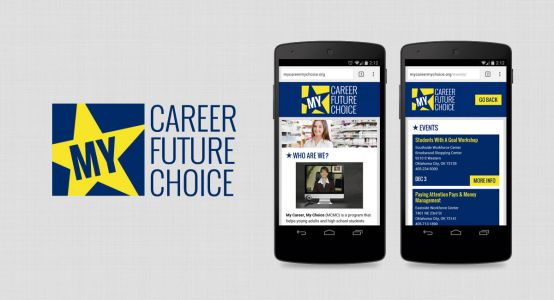 My Career, My Choice Mobile Website