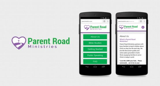 Parent Road Ministries Mobile Website