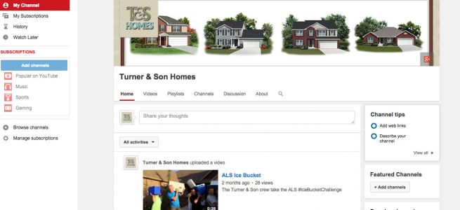 Turner & Son Homes YouTube