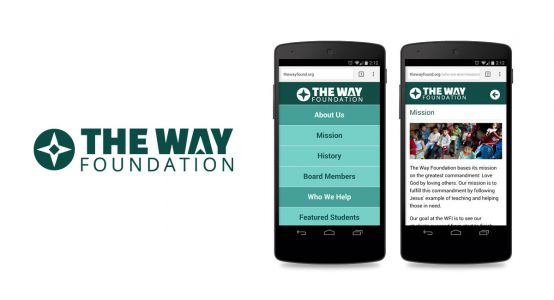 The Way Foundation Mobile Website