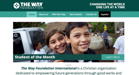 The Way Foundation Starter Website