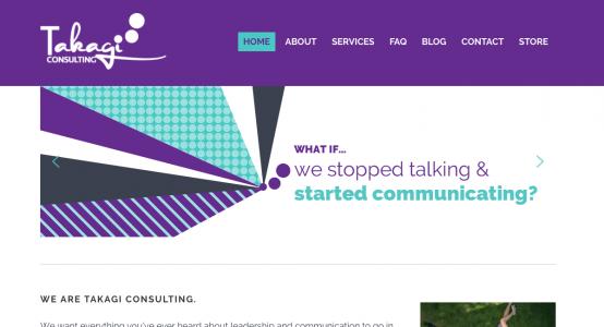 Takagi Consulting Starter Website