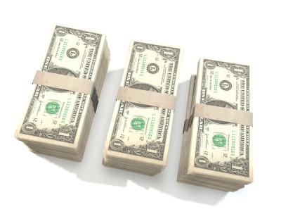 Stacks of money