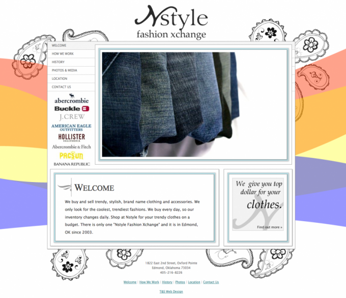 New Nstyle Website