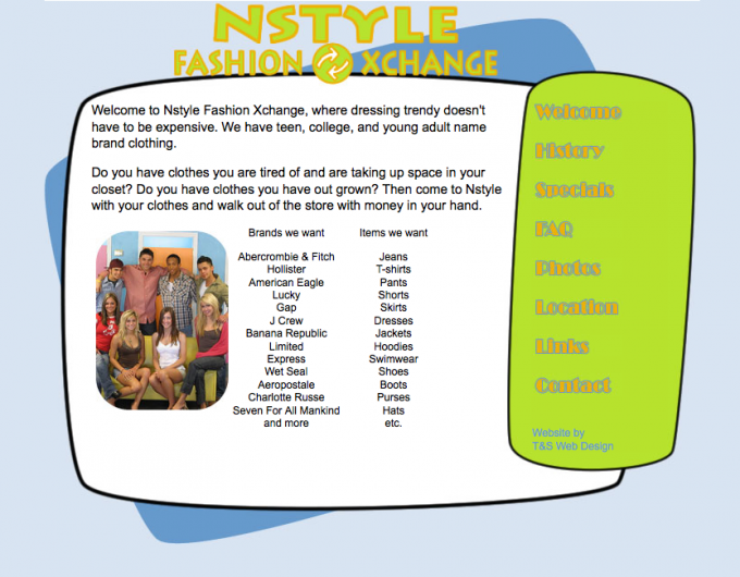 Old Nstyle Website