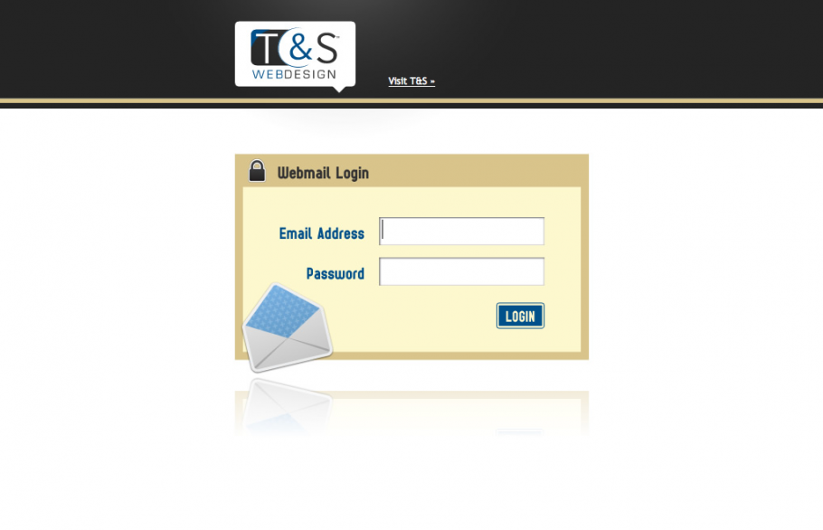 New look for webmail | T&S Online Marketing