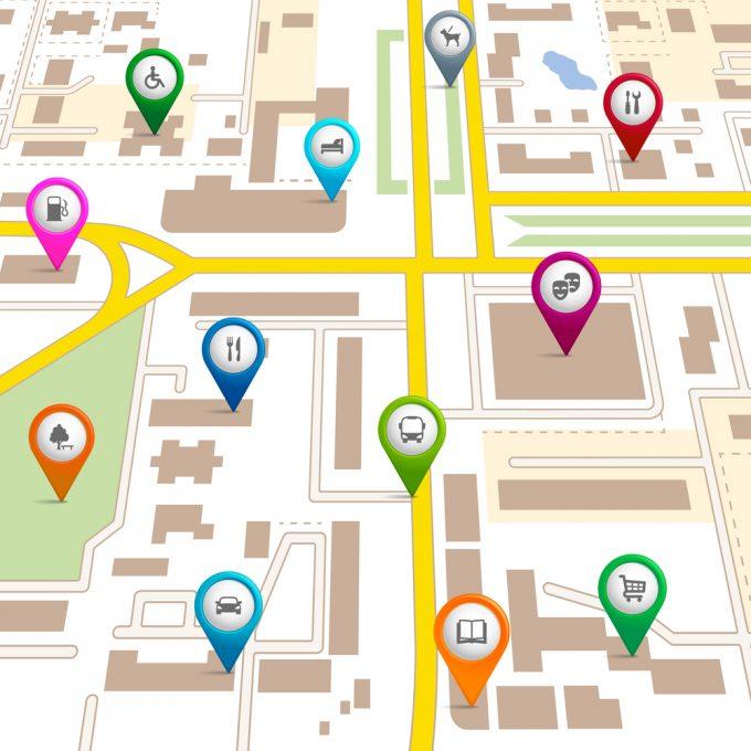 online-map