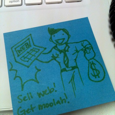 salesperson-post-it