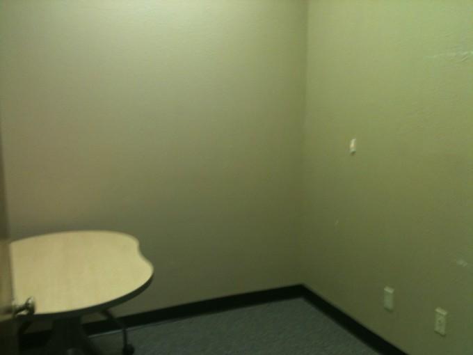 Empty corner