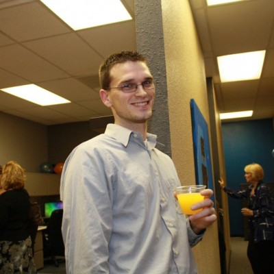 Nick Little, T&S's first employee