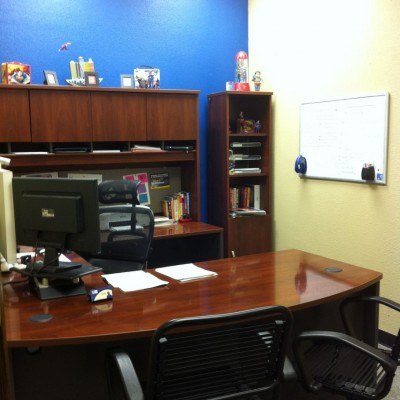 Tim's office