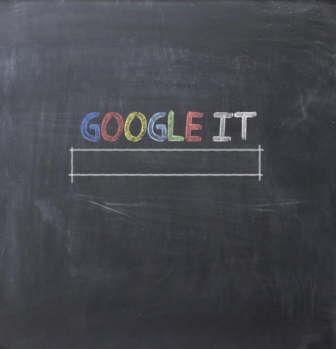 Google it on chalkboard