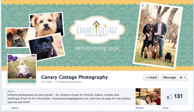 Canary Cottage Photography