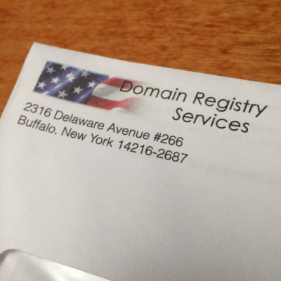 Domain Registry Services Letter