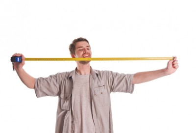 Measuring with ruler