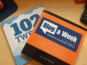 Blog a Week and 102 Tweets