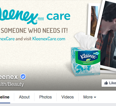 Kleenex Facebook Cover Photo