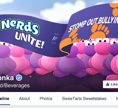 Wonka Facebook Cover Photo
