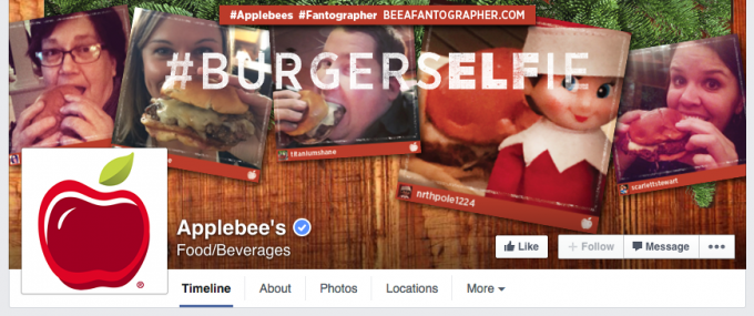 Applebee's Facebook Cover Photo