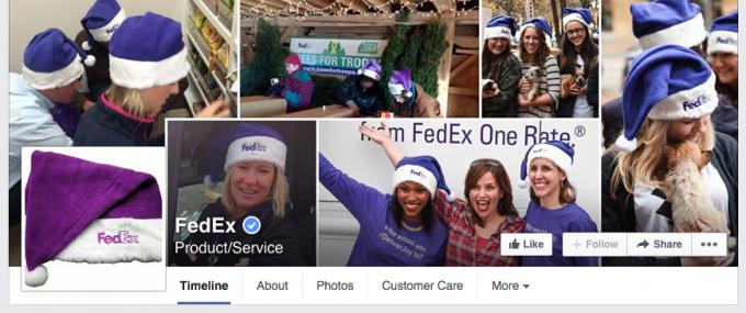FedEx Facebook Cover Photo