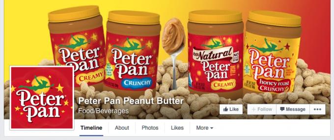 Peter Pan Facebook Cover Photo
