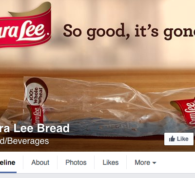 Sara Lee Facebook Cover Photo