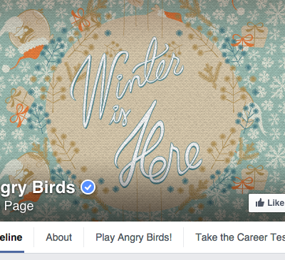 Angry Birds Facebook Cover Photo