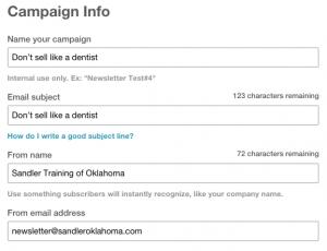 2 - Campaign Info