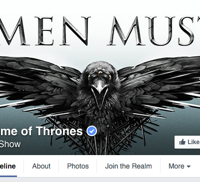 Game of Thrones Facebook Cover Photo