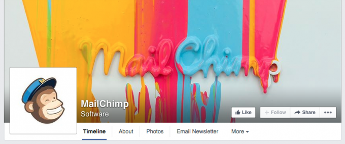 MailChimp Facebook Cover Photo