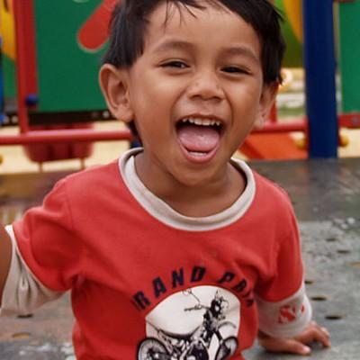 Child Having Fun