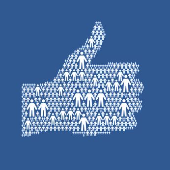 Facebook Audience Blue.fw