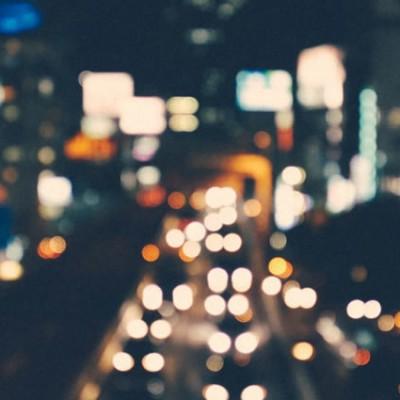Blurred City Skyline