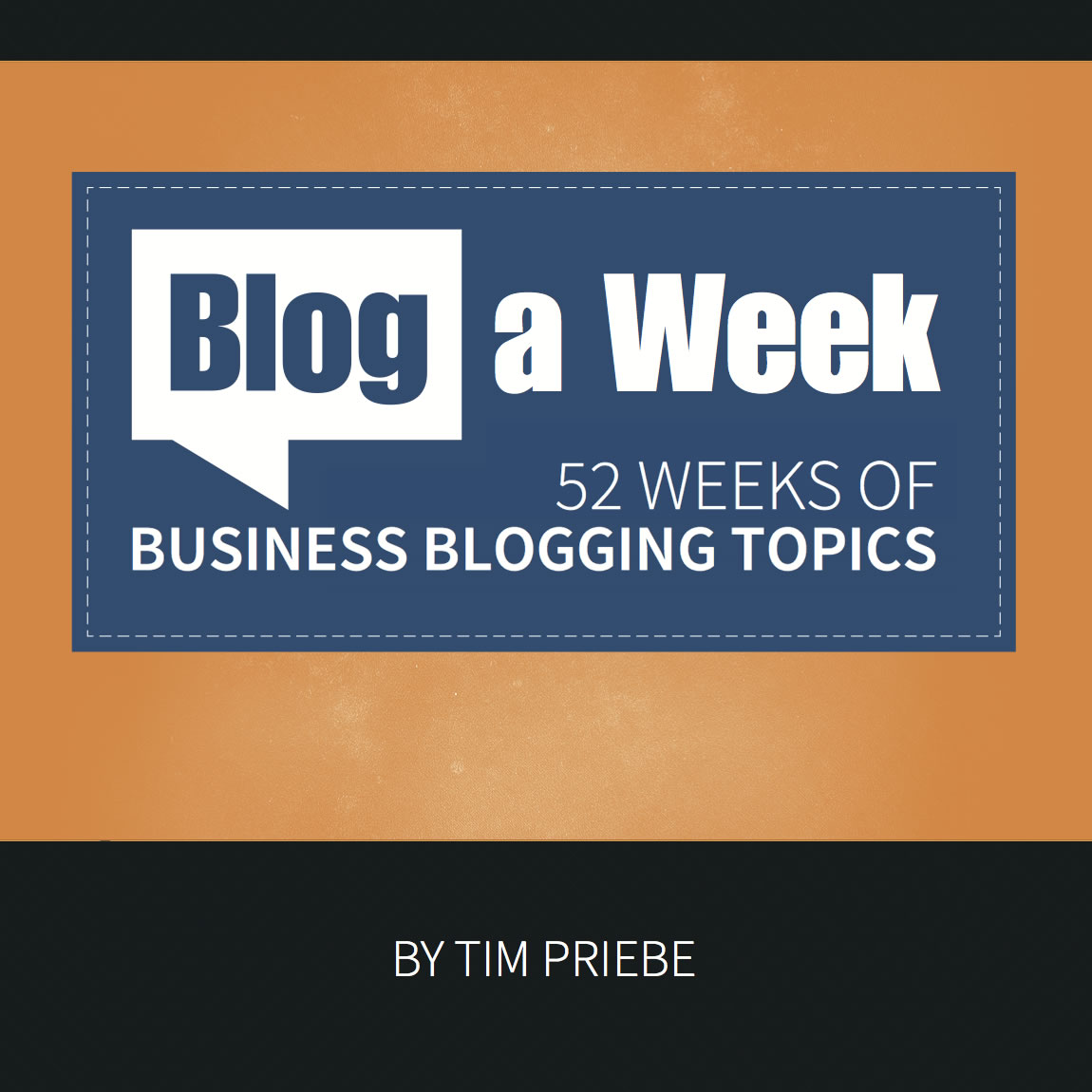 blog a week