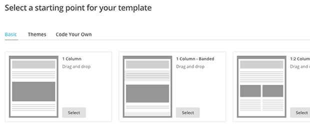 customizable template
