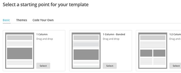 customizable template