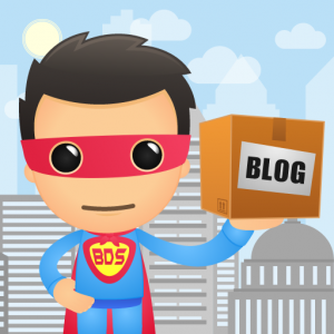 Blog Delivery System Superhero