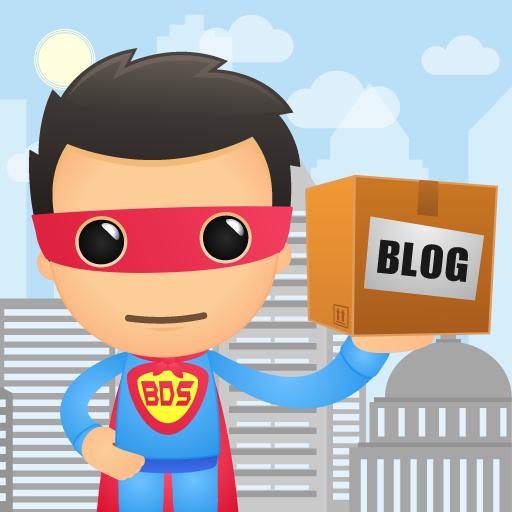 Blog Delivery System Superhero