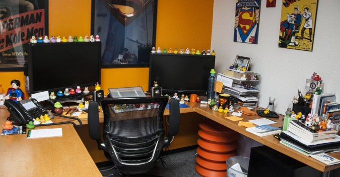 Tims clutter is rubber ducks