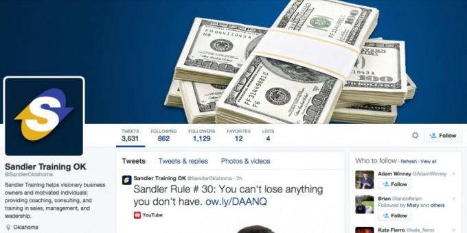 Sandler Oklahoma Twitter
