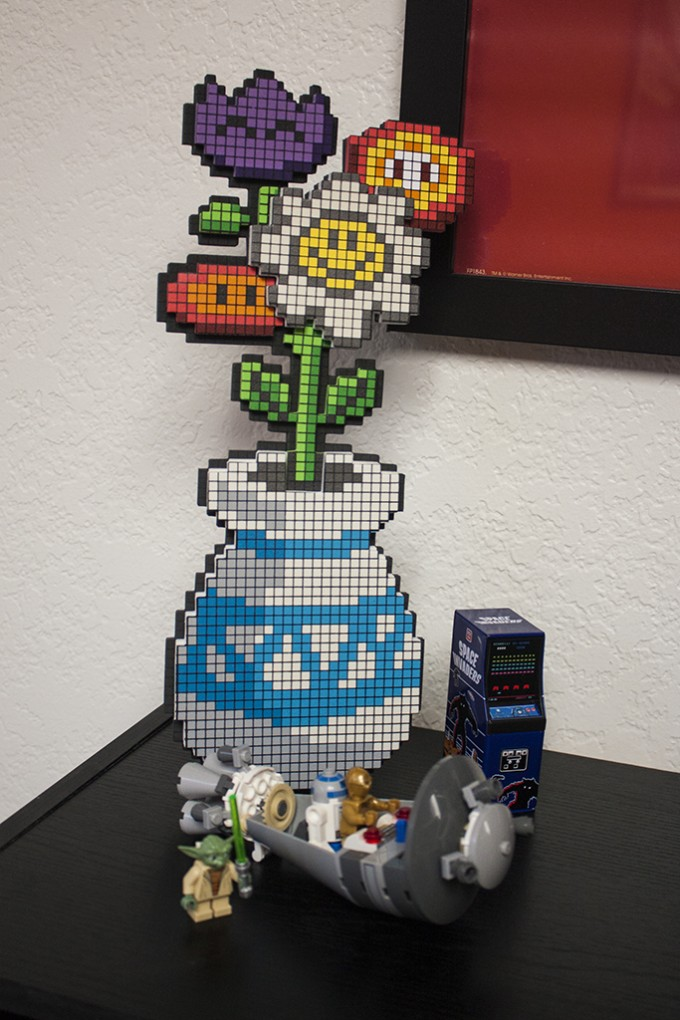Pixel Bouquet and Star Wars Legos