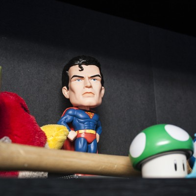 Superman Bobble-Head