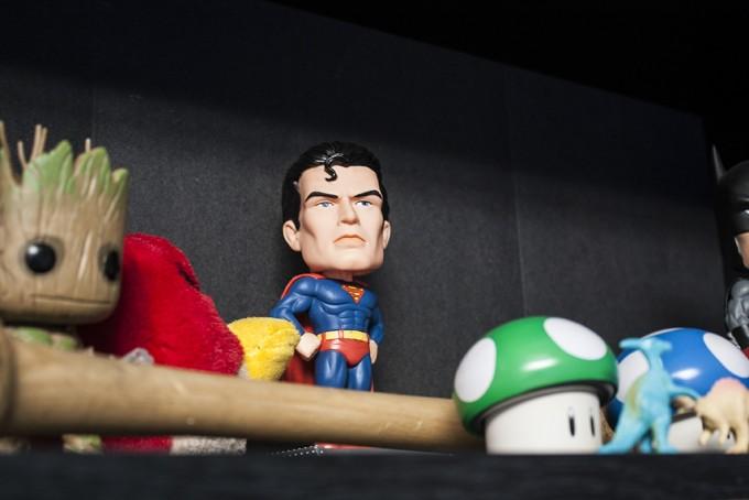 Superman Bobble-Head