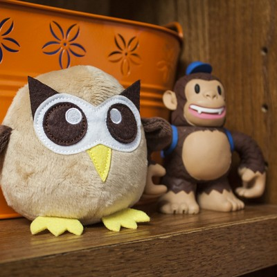 Owly and Freddie Chimp