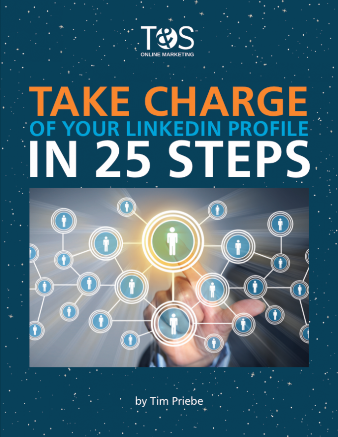 Take charge of your LinkedIn profile in 25 steps